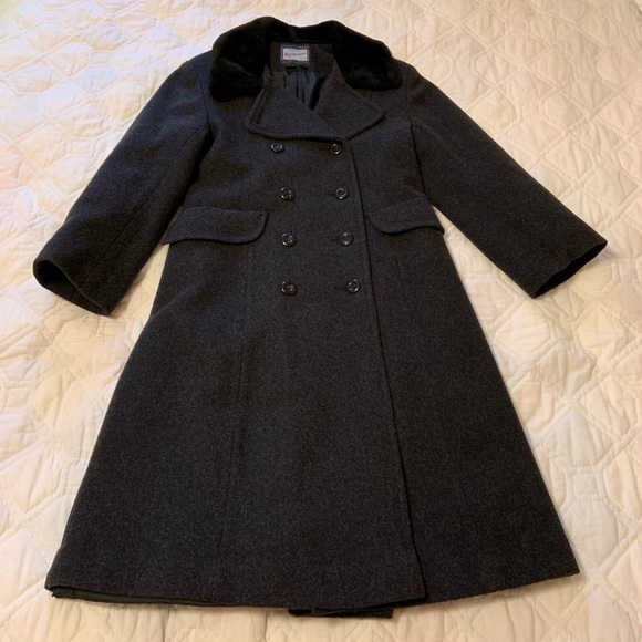 high fashion available popular style Rothschild Wool Dress Coat Top Coat Gray girls 10